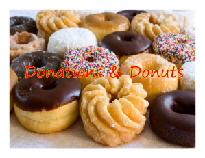 Donations and Donuts Revised Wed Jul 14