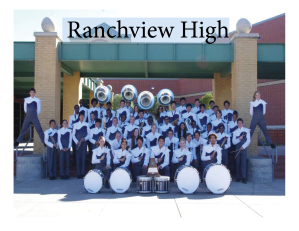 Ranchview High Band