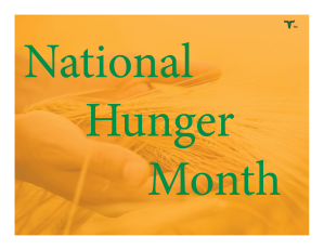 National Hunger Month 1