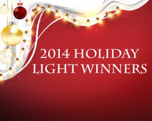 Holiday Light Winners
